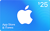 Buy US iTunes Card - $25