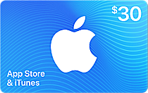 Buy US iTunes Card - $30