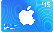 $15 itunes gift card code  15 United States (US)...